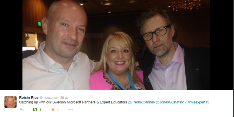 2. Roisin Rice, Swedish Partners Microsoft Expert Educators