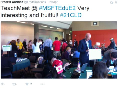4. Teach Meet 29 april 2015